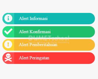 Cara Membuat Alert Sederhana Dengan HTML CSS