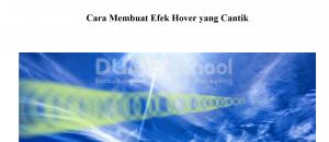 cara membuat efek hover yang cantik
