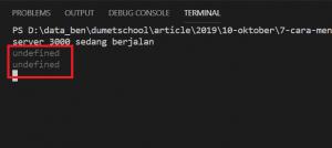 mengambil query string disebuah Rooting