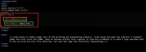 Cara Embed Font ke dalam CSS