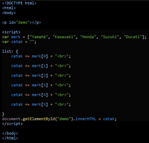 Cara Menggunakan Fungsi Break Pada Javascript