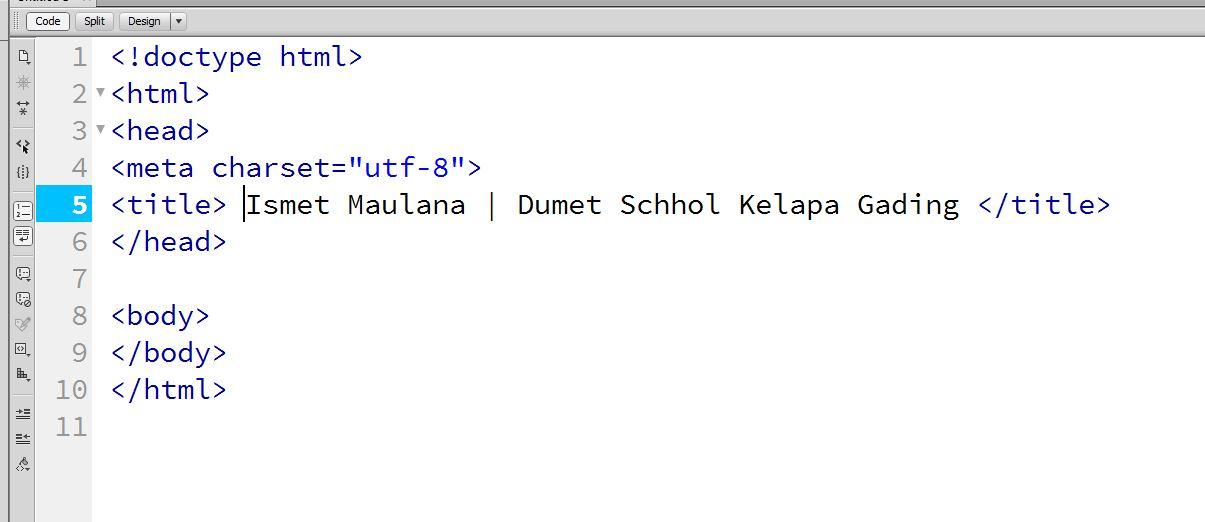 Cara Mengganti Ukuran Font Pada Editor Adobe Dreamweaver