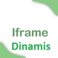 Cara Membuat Iframe Dinamis Menggunakan Jquery