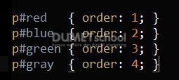 Cara Menggunakan Fungsi order pada CSS