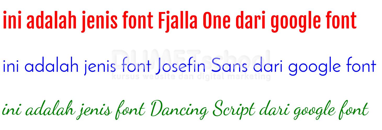 Cara Mengunakan Google Font Pada Website Agar Lebih Menarik