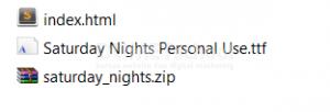 Cara Menggunakan Font External HTML CSS