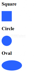 Macam - macam Shapes Dengan CSS 3