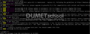 install modul npm3
