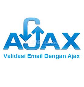 Cara Membuat Validasi Cek Email Dengan Ajax Part3