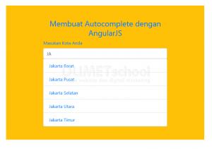 1-Cara Membuat Autocomplete dengan AngularJS