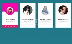 2-Cara desain profile card dengan html css