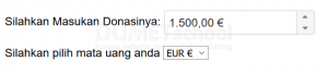 cara menampilkan angka sesuai dengan currency