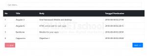 cara membuat pagination dengan Ajax jQuery