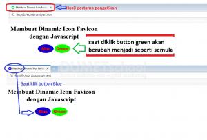 Membuat Dinamic Icon Favicon dengan Javascript