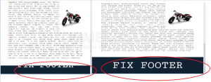 1.Membuat Fix Footer Dengan HTML CSS