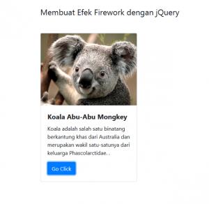 Membuat Efek Firework Dengan jQuery