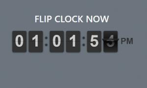 Membuat Desain Flip Clock Menggunakan jQuery