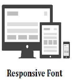 Cara Membuat Responsive Font Dengan HTML CSS