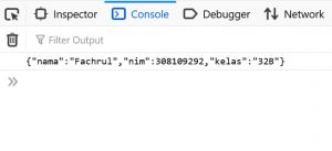 cara menggunakan JSON stringify dan JSON parse