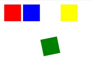 cara membuat animasi kotak berputar-putar