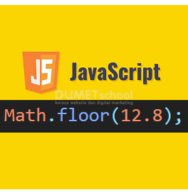 Cara Menggunakan Math.floor() Di JavaScript