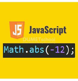 Cara Menggunakan Math.abs() Di JavaScript