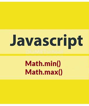 Cara Menggunakan Math.min() Dan Math.max() Di JavaScript