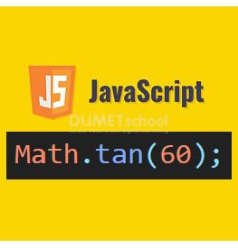 Cara Menggunakan tan() Di JavaScript