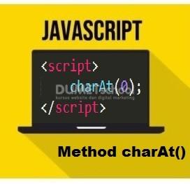 Cara Menggunakan Method charAt() Di JavaScript