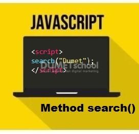 Cara Menggunakan Method search() Di JavaScript