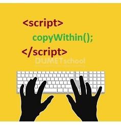 Cara Memnggunakan Method copyWithin() JavaScript