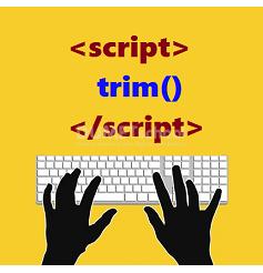 Cara Menggunakan Method trim() Di JavaScript