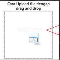 Cara Upload File dengan Drag and Drop