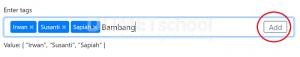 cara mudah membuat fungsi Tags