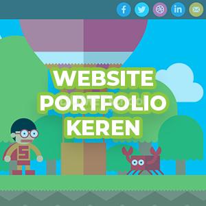 3 Website Portfolio Keren Karya Designer Dunia